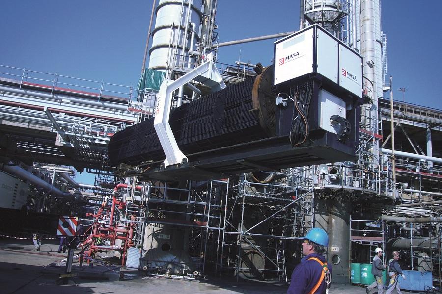 limpieza industrial realizada por masa, empresa de mantenimiento integral industrial